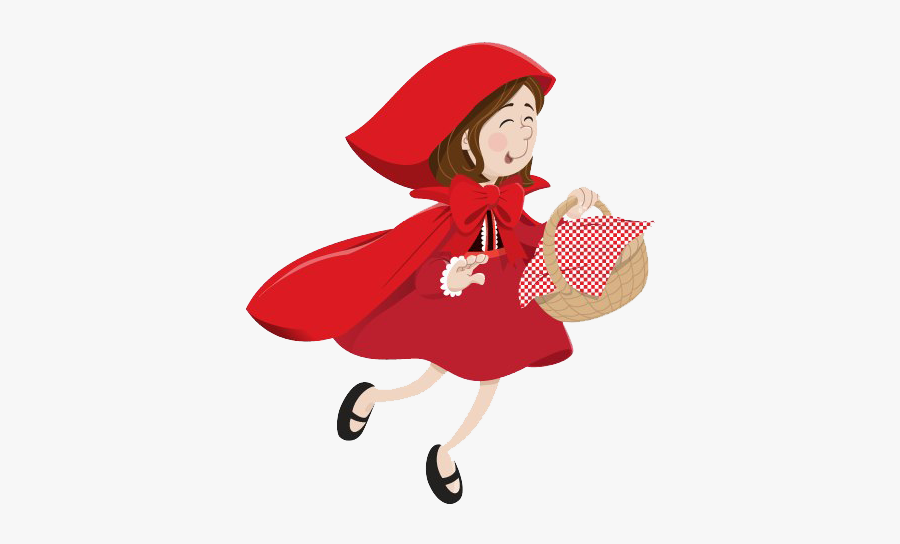 Little Red Riding Hood Png Background Image - Little Red Riding Hood Png, Transparent Clipart