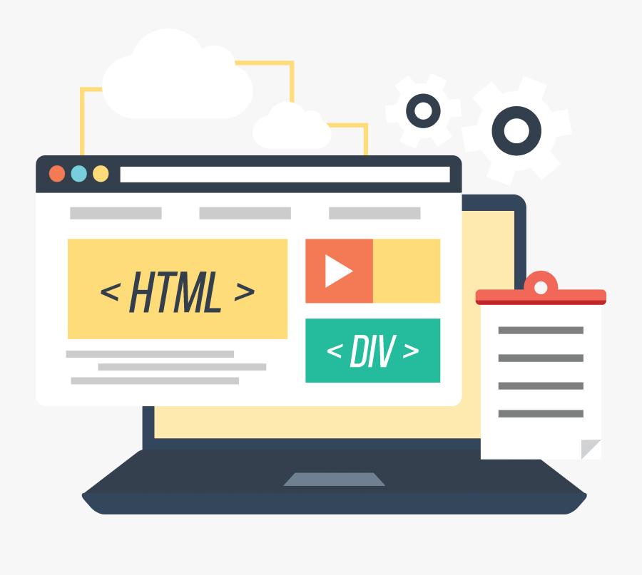 Website Development For B2b Companies - Web Design Website Clip Art, Transparent Clipart