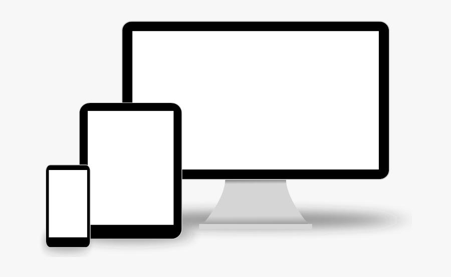 Responsive Design Template Png, Transparent Clipart