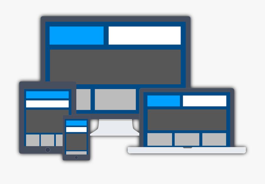Responsive Web Design Png Transparent Images - Responsive Web Design Vector Png, Transparent Clipart