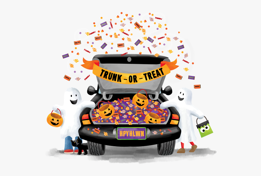 Picture - Free Trunk Or Treat, Transparent Clipart