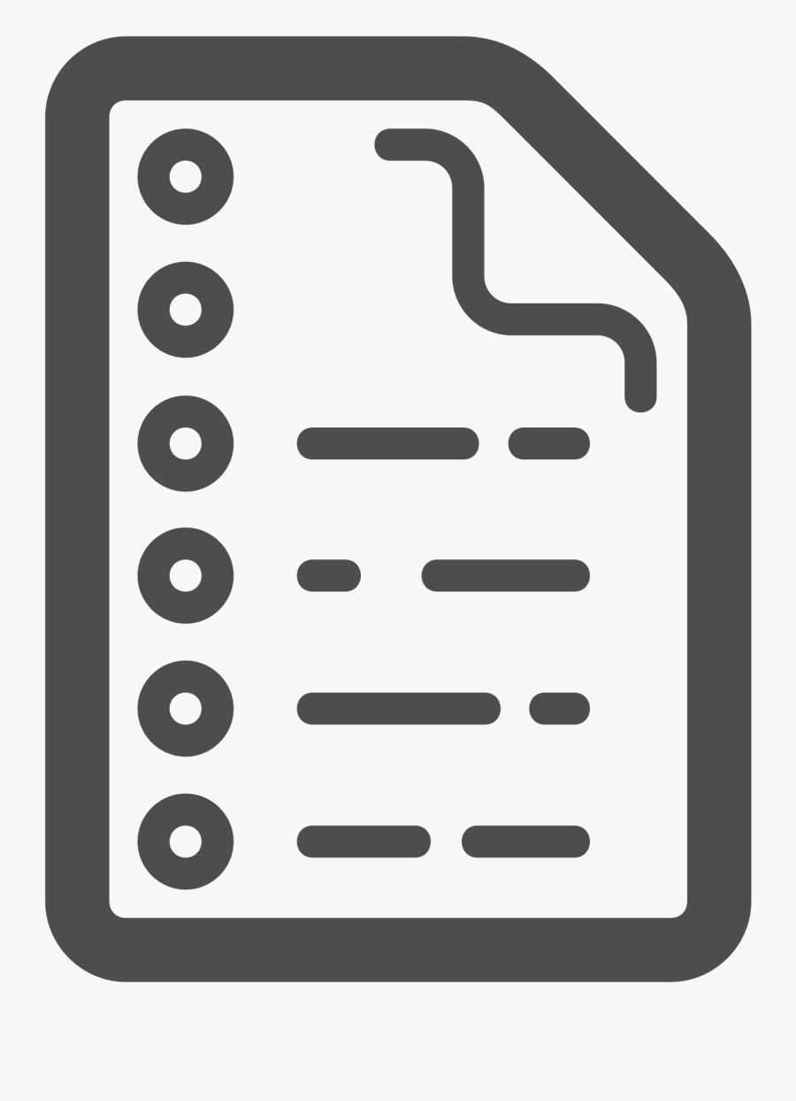 Paper Note - Clipart Paper With Notes, Transparent Clipart