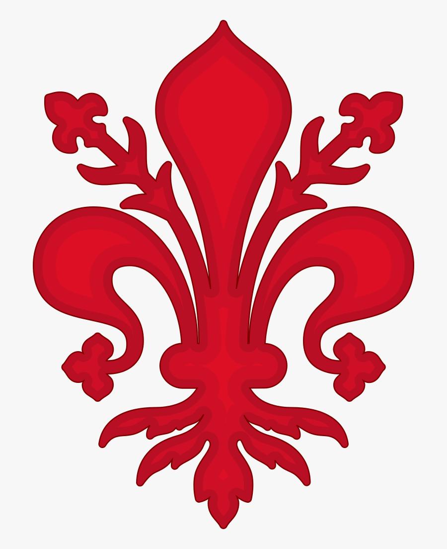 Clip Art File De Lys Florence - Png Louisiana Fleur De Lis, Transparent Clipart