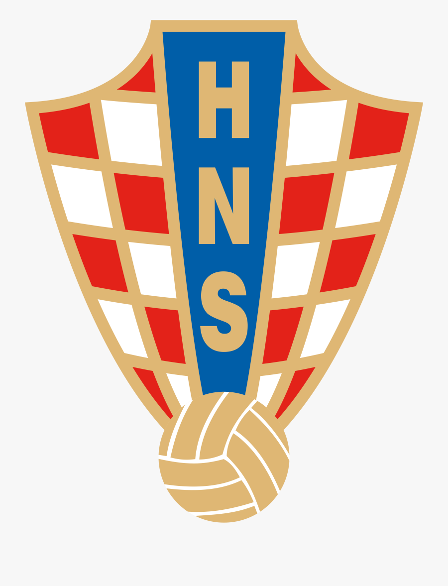 Croatia National Football Team Logo, Crest - Croatia Football Team Logo, Transparent Clipart