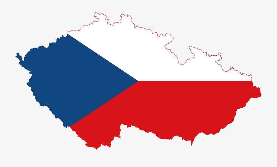 Czech Republic Coat Of Arms Flag, Transparent Clipart