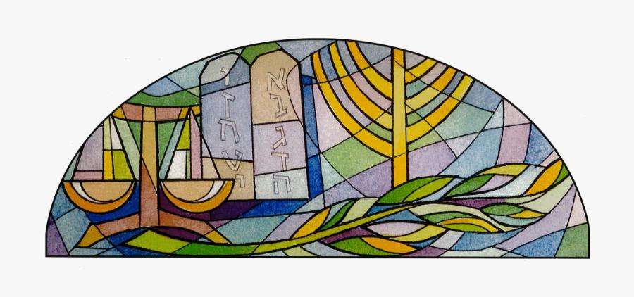 Jewish Stain Glass Windows, Transparent Clipart