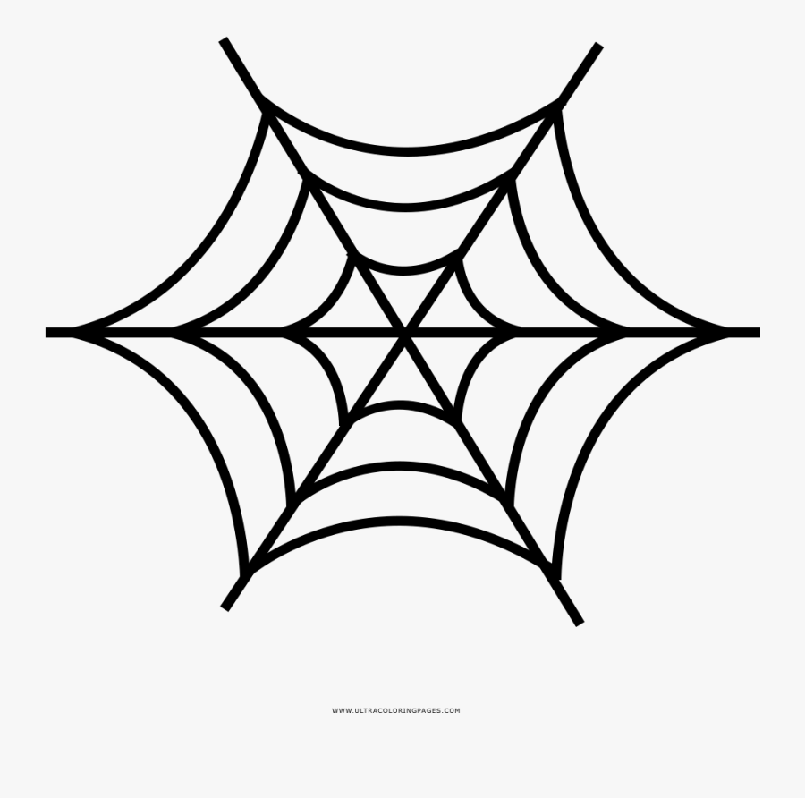 Spider Web Drawing Png, Transparent Clipart