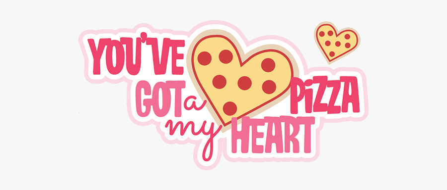 #valentines #heart #hearts #love #sweetheart #pizza - Heart, Transparent Clipart