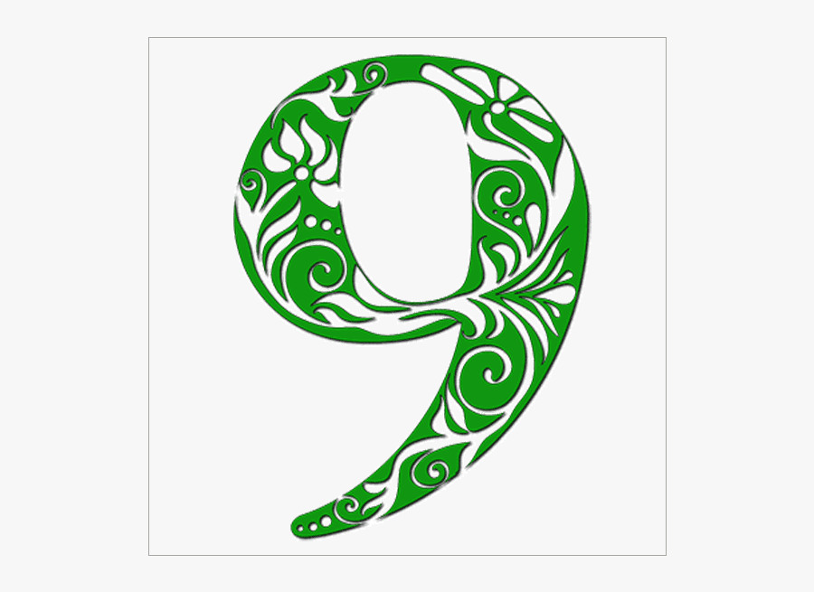 Numerology Life Path - Meaning Number 9 , Free Transparent