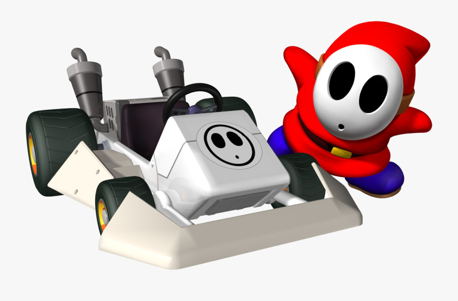 Shy Guy Artwork - Mario Kart Ds Characters Shy Guy, Transparent Clipart