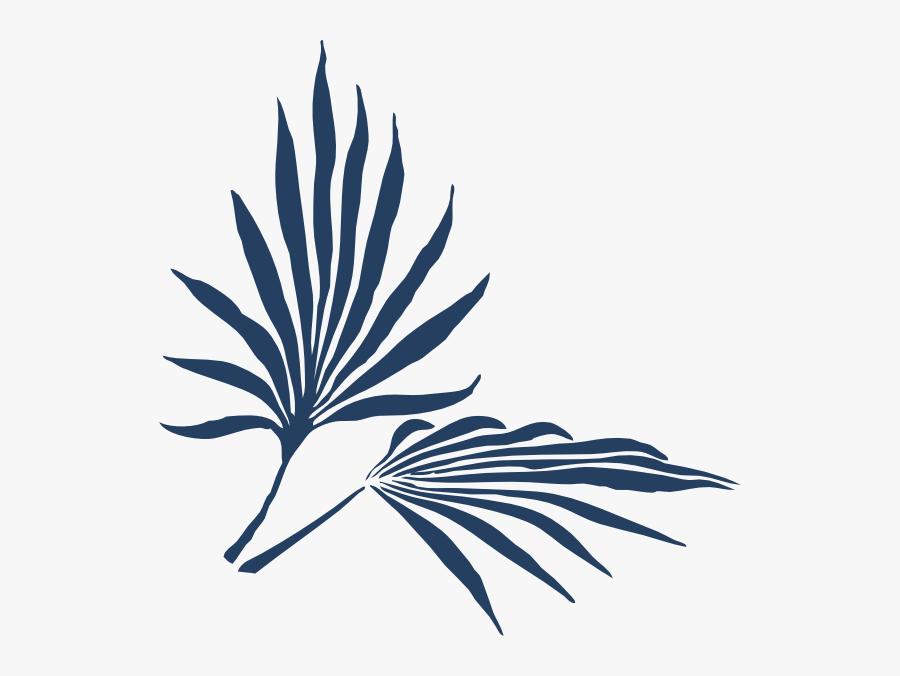 Palm Frond Clip Art, Transparent Clipart