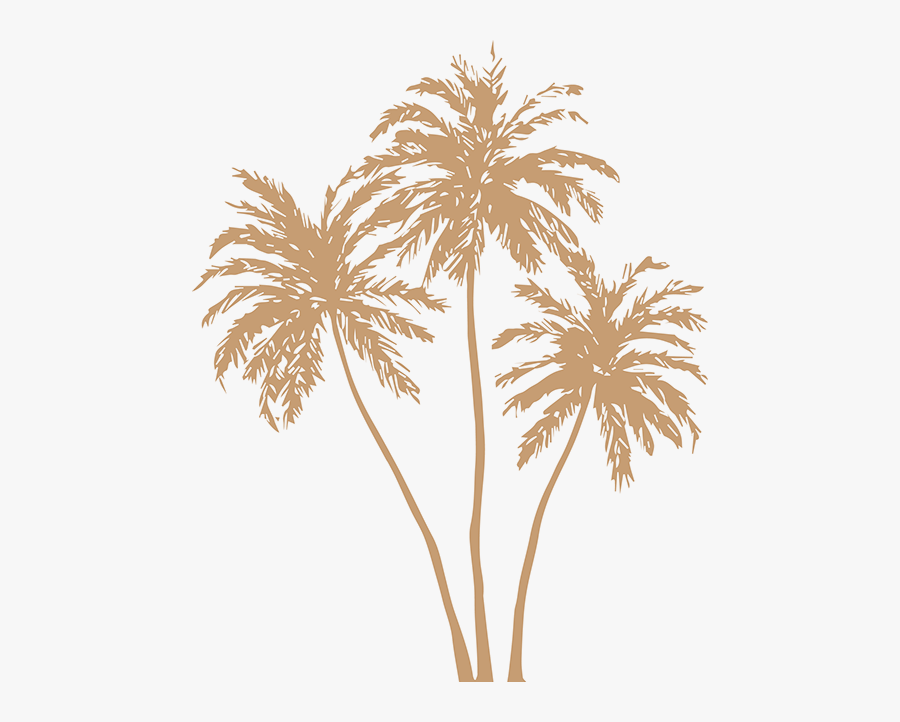 Gold Palm Leaves Png - Gold Palm Tree Png, Transparent Clipart