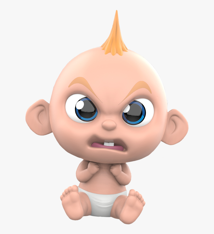Incredibles Baby Jack Mad Free Transparent Clipart Clipartkey