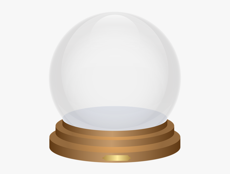 Clipart Globe Empty - Transparent Snow Globe Clip Art, Transparent Clipart