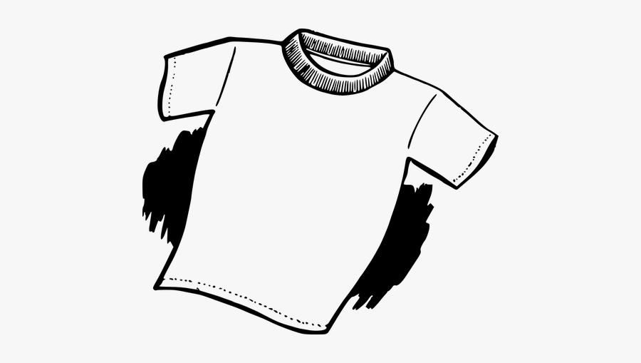T-shirt Drawing - T Shirt Png Tekening, Transparent Clipart