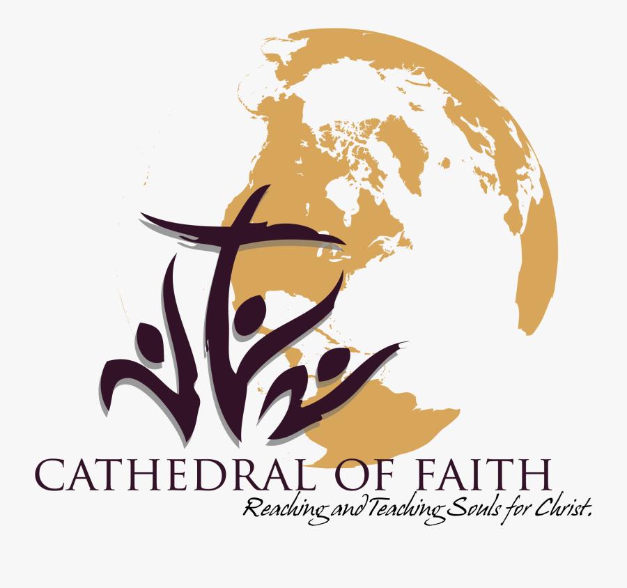 Cathedral Of Faith Baptist Church Logo, Transparent Clipart
