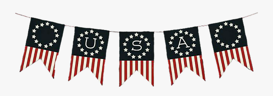 Independence Day , Transparent Cartoons - Free Printable 4th Of July Banner, Transparent Clipart