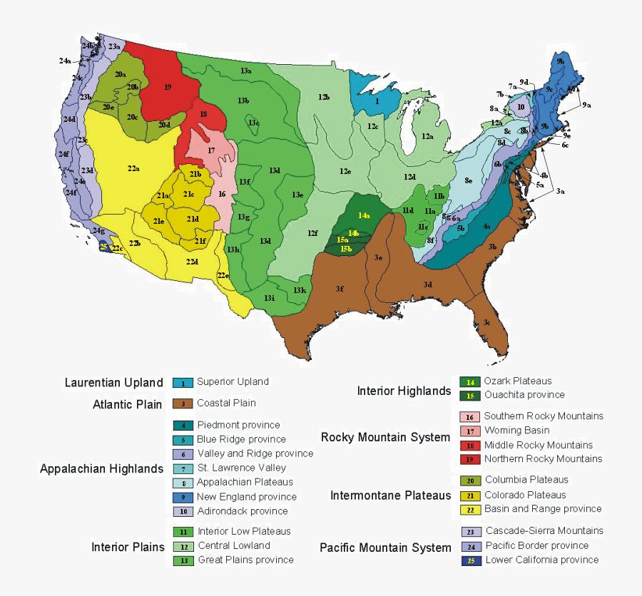 Clip Art North America Elevation Map - Jim Crow Law Map, Transparent Clipart