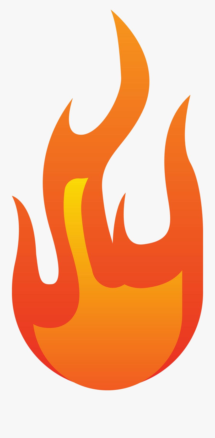 Transparent Fire Vector Png - Llama Combustion, Transparent Clipart