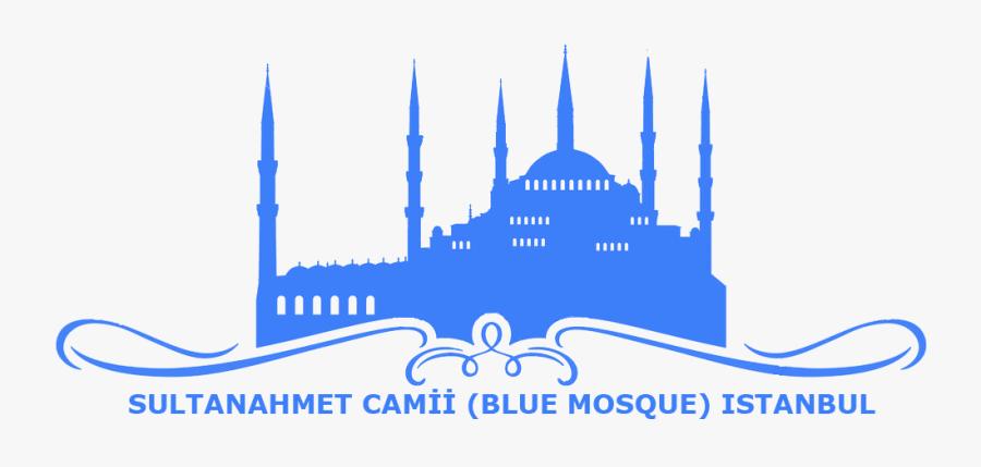 Blue Mosque - Sultanahmet Camii - Blue Mosque Logo, Transparent Clipart
