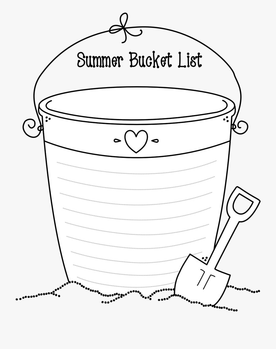 Summer Bucket List - Illustration, Transparent Clipart