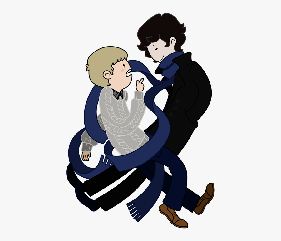 Hiding Clipart Sherlock - Adventure Time Style Drawings, Transparent Clipart