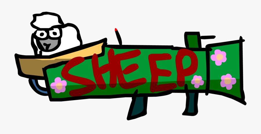 Transparent Strike Clipart - Strike Force Heroes Sheep, Transparent Clipart