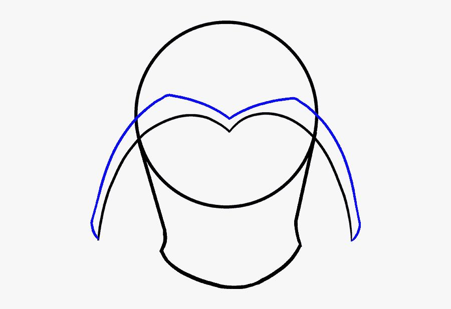 How To Draw Dart Vader - Darth Vader, Transparent Clipart