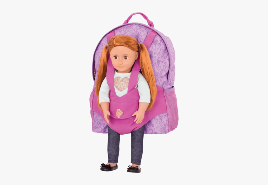 Doll Carrier Backpack - Our Generation Backpacks, Transparent Clipart