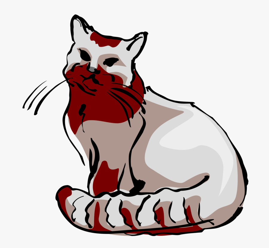 Art,small To Medium Sized Cats,artwork - Cat, Transparent Clipart