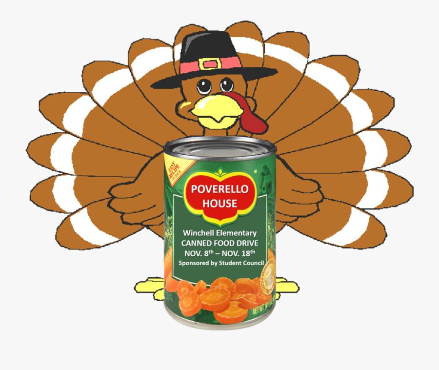 Poverellohousecan-2 - Fat Turkeys, Transparent Clipart