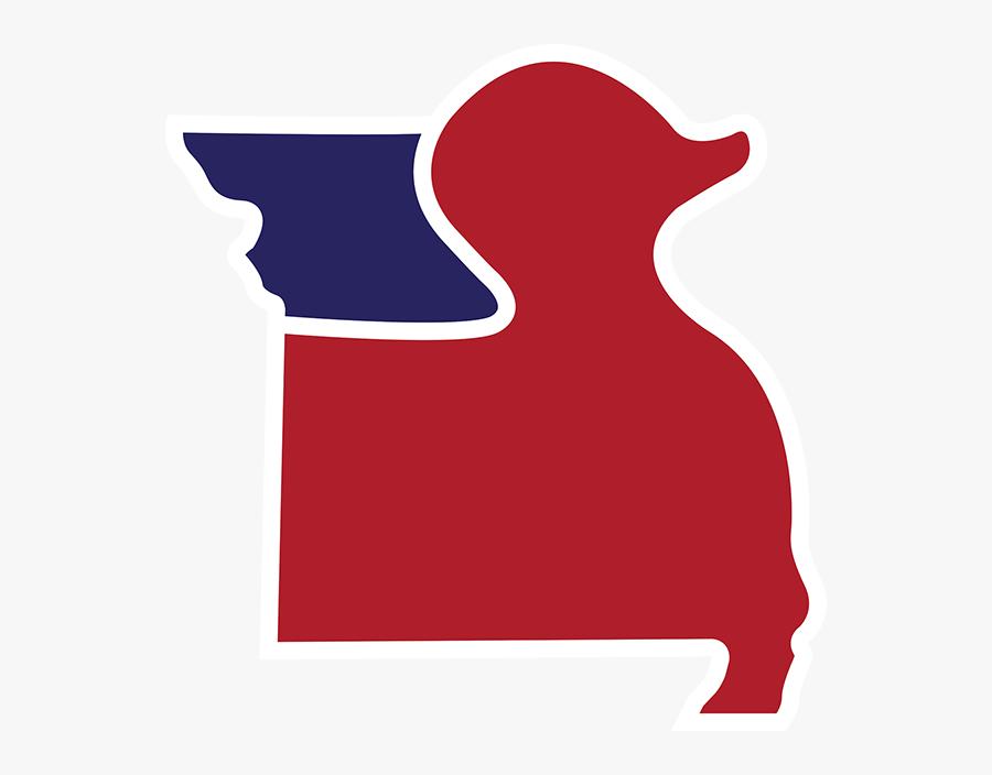 Missouri Student Council Duck, Transparent Clipart
