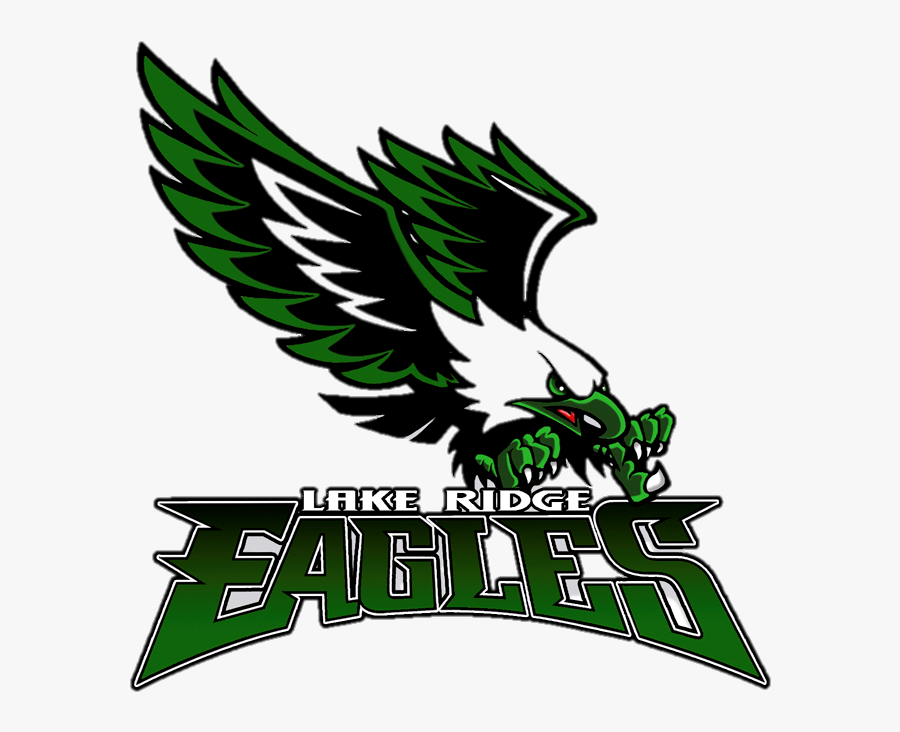 Lake Ridge High School Mascot, Transparent Clipart