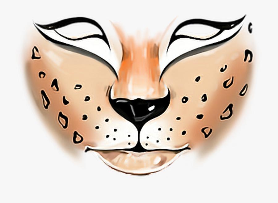 Transparent Facepaint Png - Tiger Face Paint Png, Transparent Clipart