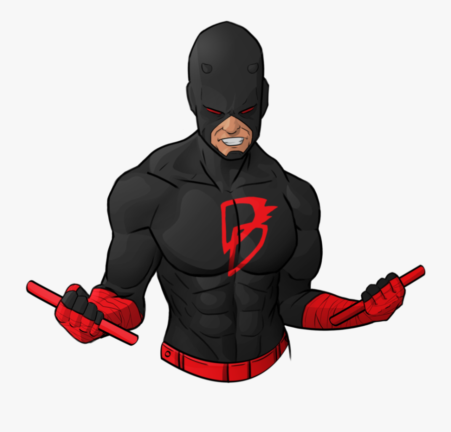 Daredevil Netflix Comic Book Marvel Comics All New, - Daredevil Logo All New All Different, Transparent Clipart