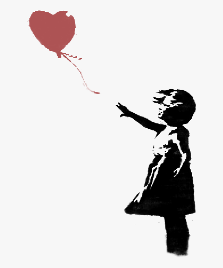 Images In Collection Page - Banksy Balloon Girl Png, Transparent Clipart