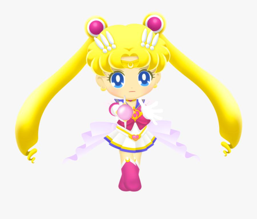 Transparent Moon Clipart Transparent - Sailor Drops Super Sailor Moon, Transparent Clipart