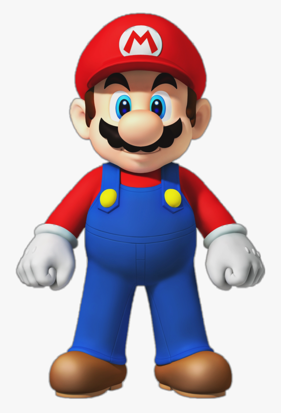 #itsamemario #mario #papermario #marioparty #mariokart - New Super Mario Bros Wii Render, Transparent Clipart