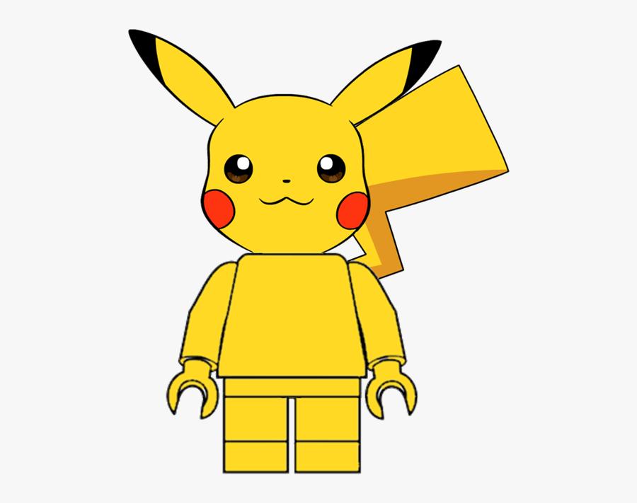 Lego Dimensions Customs Community - Pikachu Logo, Transparent Clipart