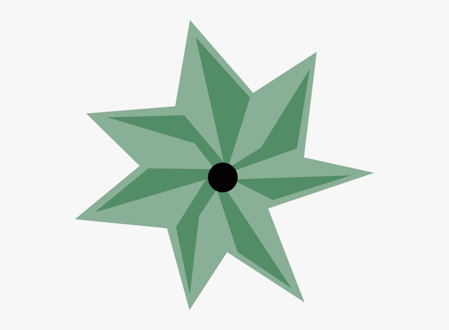 Free Vector Map Symbols Clip Art - Star, Transparent Clipart