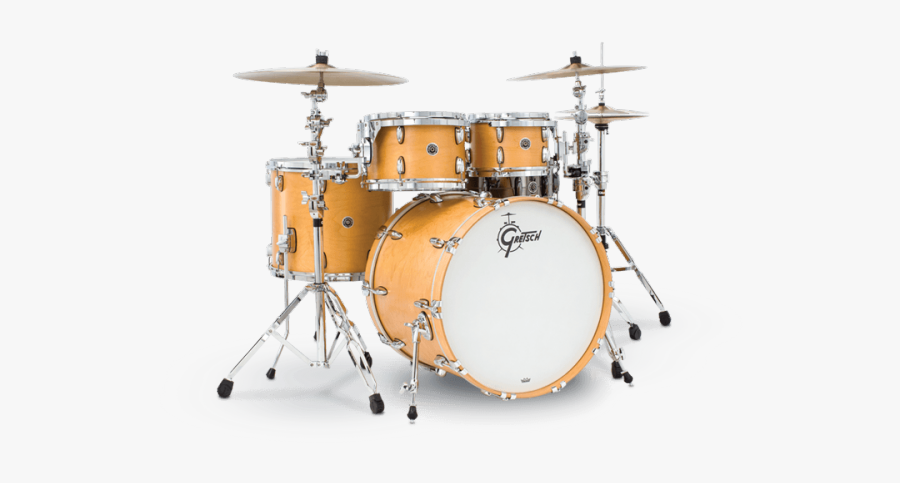 Picture Of Drums - Gretsch Brooklyn 4 Piece, Transparent Clipart