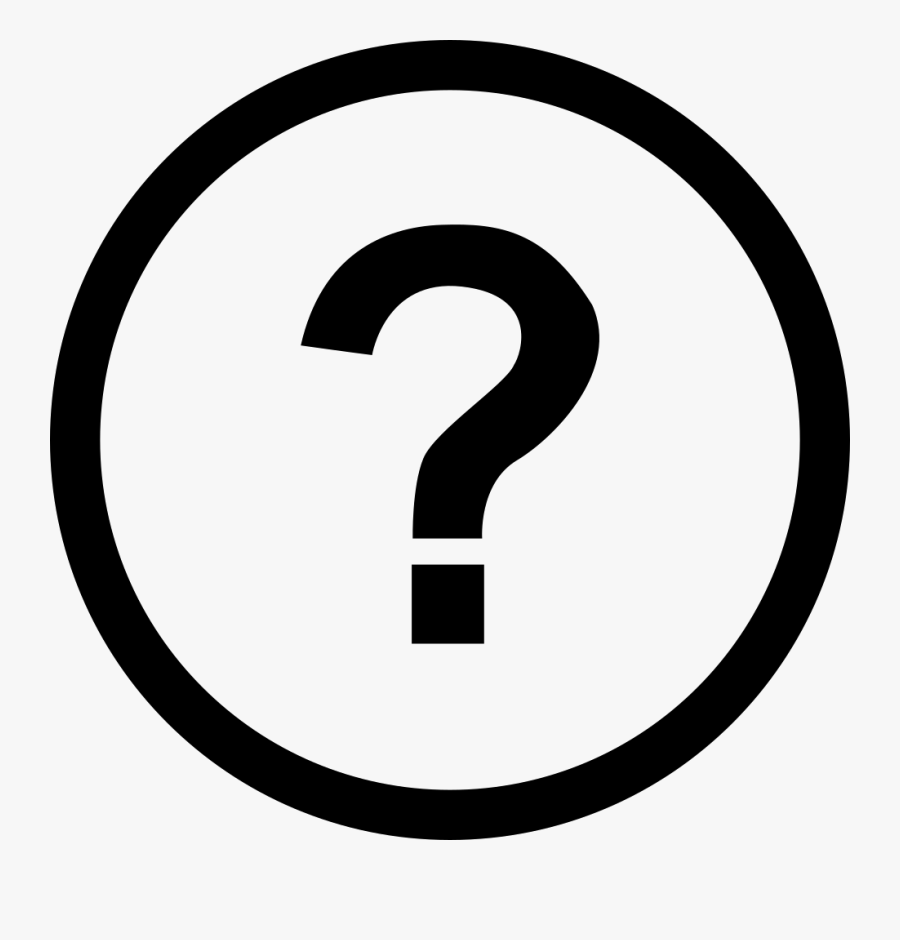 Question Mark Life Options Clip Art - 2 Number In Circle, Transparent Clipart