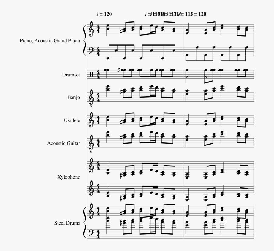 Tetris Theme A - Tetris 99 Makn Them Violin Sheet Music, Transparent Clipart