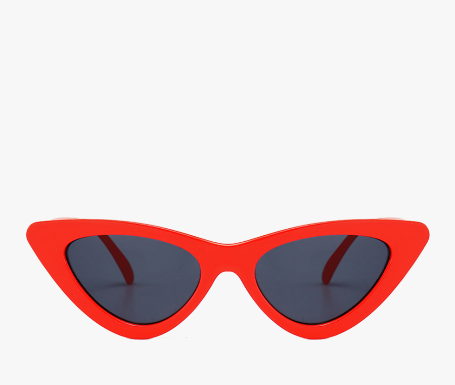Red Cat Eye Culture Clip Art Royalty Free Library - Retro Sunglasses Transparent Background, Transparent Clipart