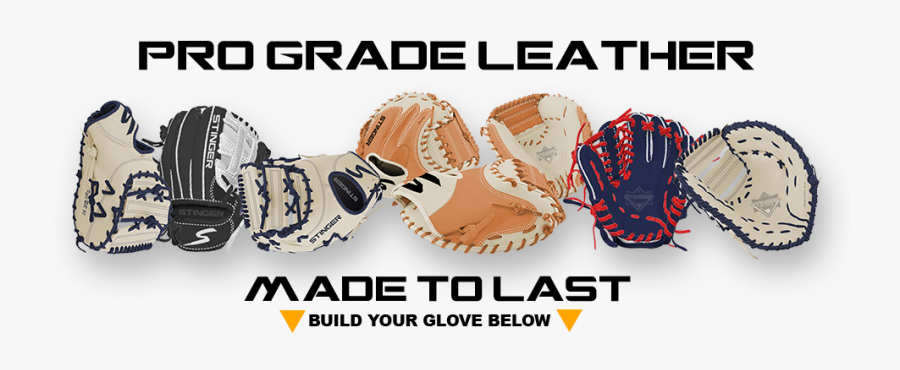 Usa Baseball Fielding Gloves, Transparent Clipart