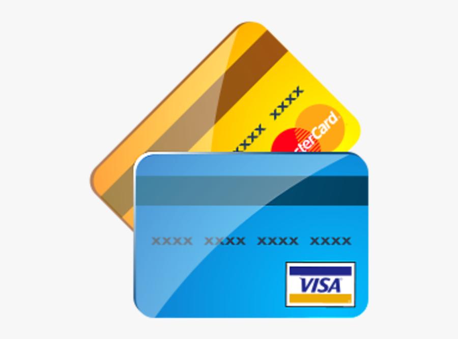 Credit Card Clipart - Credit And Debit Card Png, Transparent Clipart