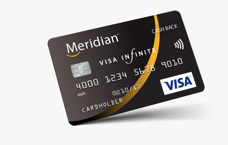 Clip Art Meridian Cards Personal Member - Card Credit, Transparent Clipart