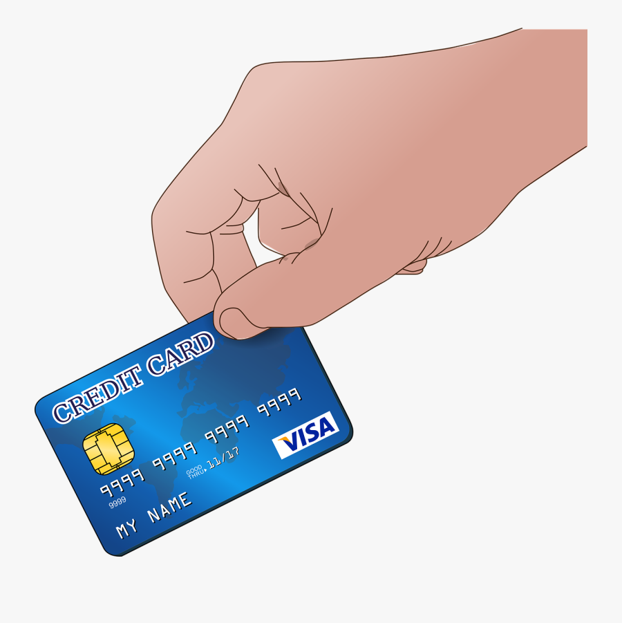 Ec, Map, Hand, Finger, Keep, Ec Card, Atm - Credit Card Clipart Transparent, Transparent Clipart