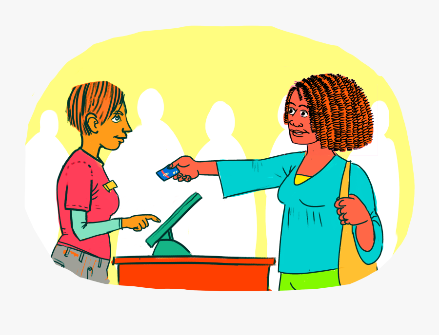 Blog Signal Success Credit - Children Spending Money Free Clip Art, Transparent Clipart