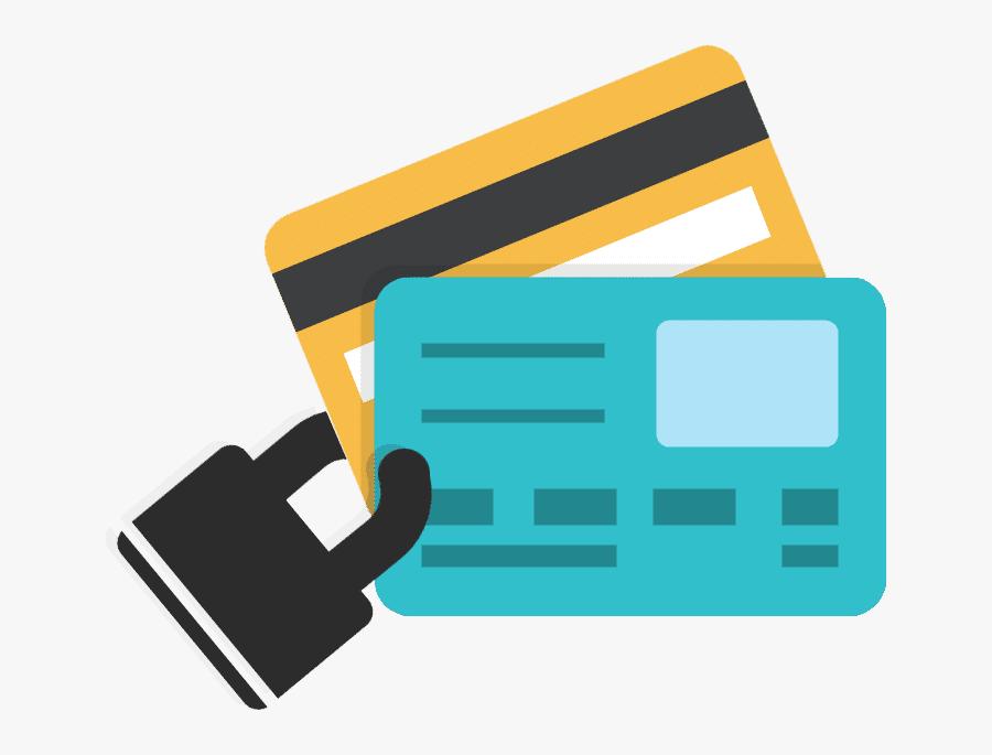 Transparent Identity Theft Clipart - Vector Credit Card Png, Transparent Clipart